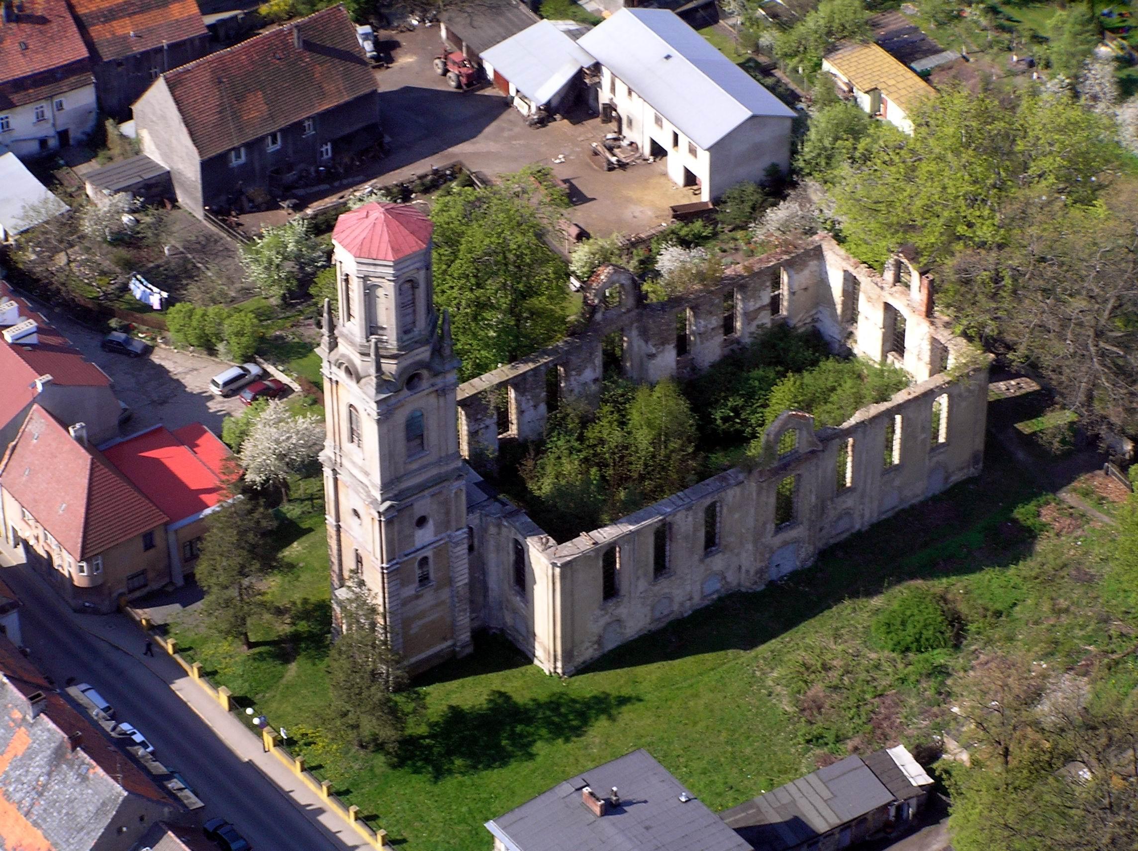 Dzieje budynku kościoła ewangelickiego