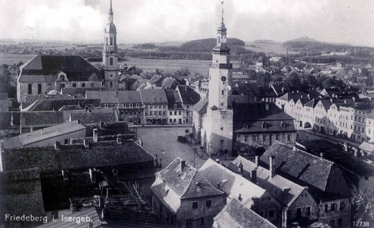 Mirsk w czasie II wojny światowej (do okresu osadnictwa)