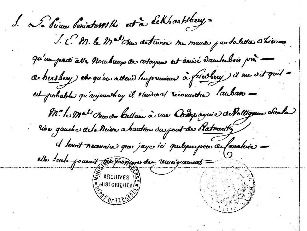 poniatowski friedeberg 1813