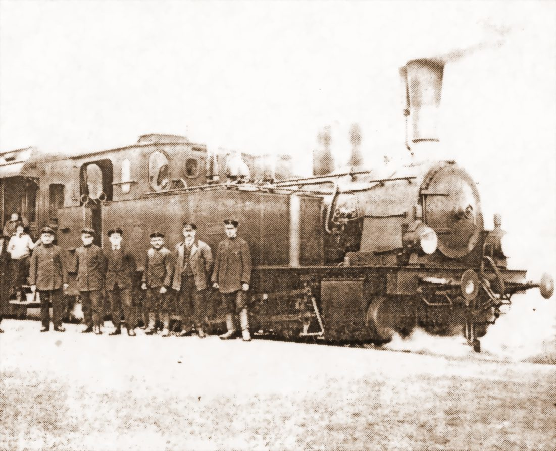 Stoi na stacji lokomotywa – Ad vocem